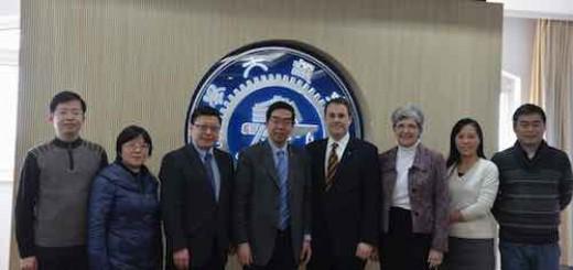 美国约翰·霍普金斯大学教务长一行访问上海交通大学