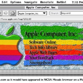 这就是20年前苹果的首个首页:杂乱无章