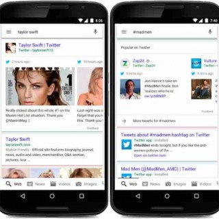 "Google重推""微博搜索"",搜索结果整合Twitter消息"