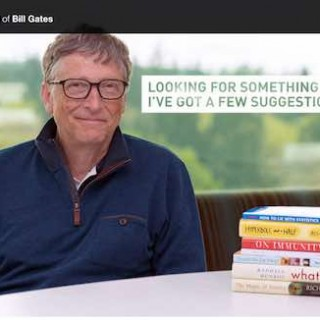 想找点书看?来看看比尔·盖茨刚刚更新的夏日书单