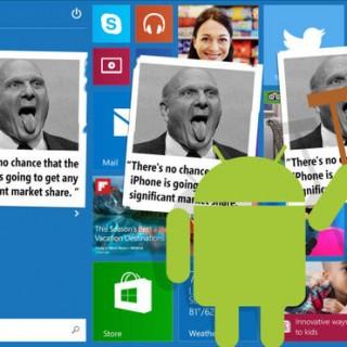兼容安卓和iOS:Windows丧失平台优势