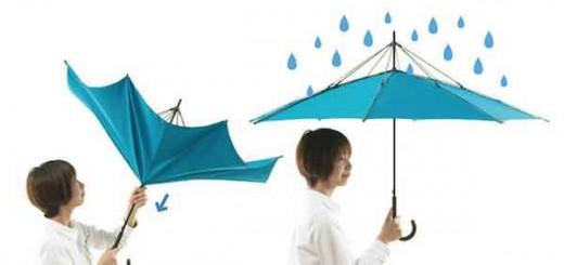 """反方向雨伞能否""""不湿身"""",互动百科带你解读今日新词"""