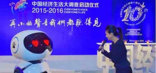 """与央视合作 看小度机器人现场如何""""调戏""""王小丫"""