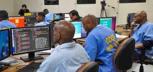 囚犯都在学习编程:任何人都有获得新生的机会