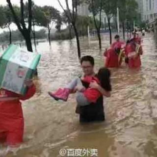 武汉暴雨,百度人在行动:万间酒店免费住、地图实时显示积水点