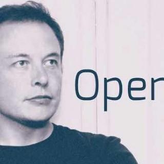 特斯拉CEO埃隆·马斯克(Elon Musk)与他的机器人管家OpenAI