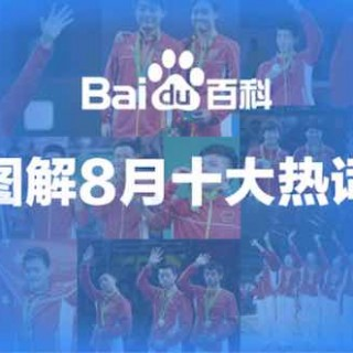 百度百科发布8月十大热词:王宝强,青云志,张继科,傅园慧,女排上榜