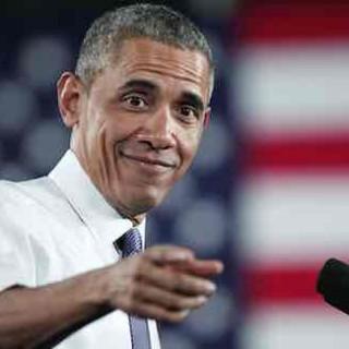 奥巴马白宫记者晚宴变身段子手狂吐槽 希拉里和特朗普也不放过