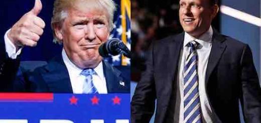 特朗普当选美国总统,硅谷大佬们哭晕在厕所 只有彼得·蒂尔偷乐