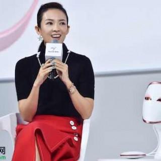 章子怡美丽策与NASA结缘,千亿级科技美容市场不再是男性专利