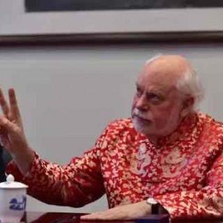 诺贝尔奖得主斯托达特对话复旦学子:做科研,要像马像象又像蜂