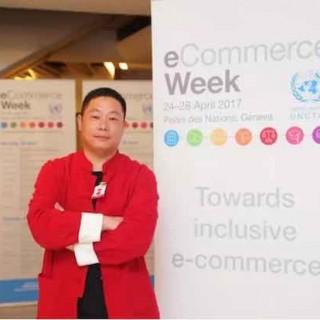 联合国电子商务周:一位中国农民网商贾培晓的联合国圆梦之旅